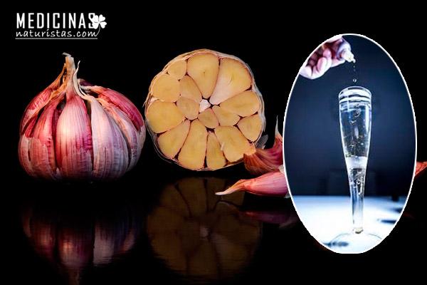 Jarabe de ajos efecto antioxidante y cardioprotector