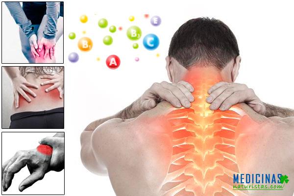 """Alimentos con VITAMINAS """"B"""" para el dolor articular, muscular"""