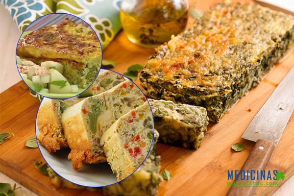 Budín de verduras, dile NO a la ANEMIA, de una manera deliciosa