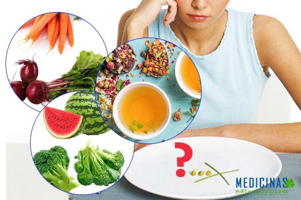 ANOREXIA: dietas saludables, alimentos ligeros y nutritivos