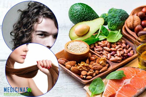 Dieta diaria para una cabellera sana, brillante y fuerte