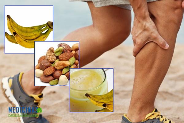 Alimentación rica en calcio y vitaminas para CALAMBRES musculares