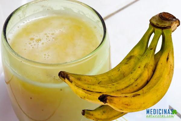 Chapo del plátano maduro para subir de peso