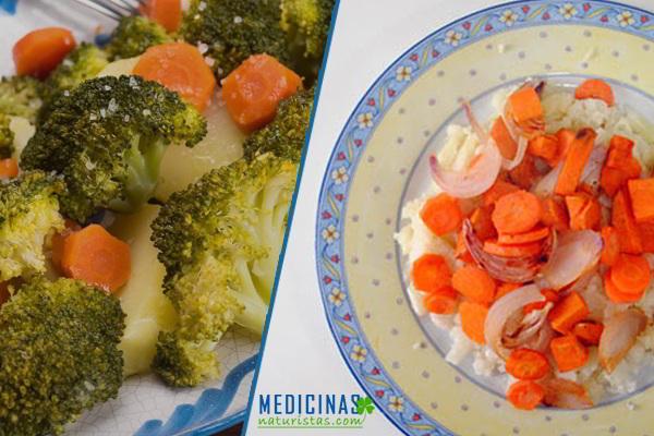 Ensaladas antioxidantes para acompañar el almuerzo