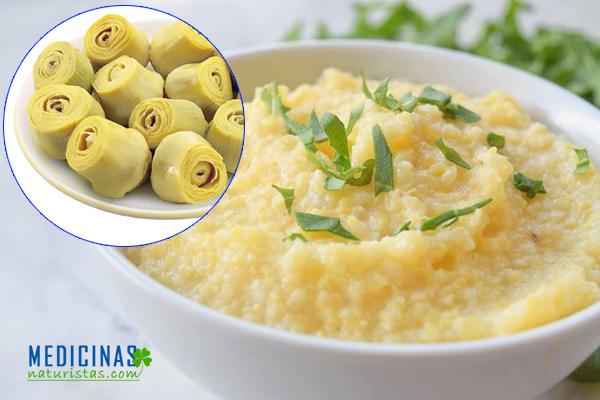 Polenta: Crema de maíz y verduras para casos de alergias alimentarias