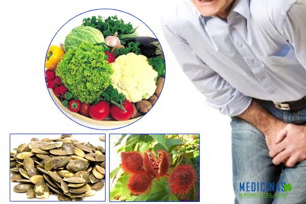 Consejos dietéticos para pacientes con prostatitis
