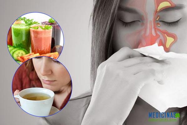 ¿Cómo deber ser la alimentación si tienes sinusitis?