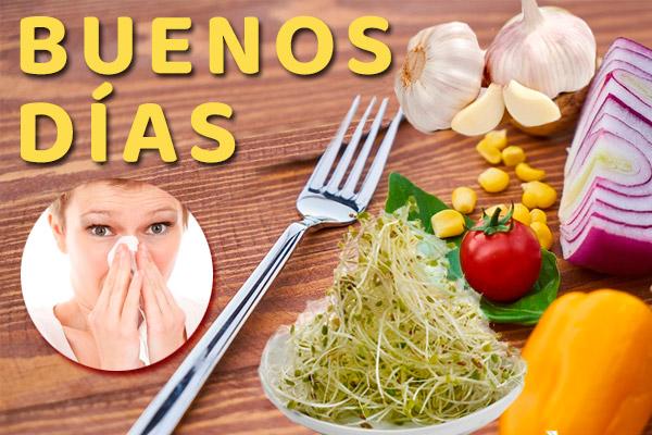 Sinusitis, Rinitis ¿Qué comer en ayunas?