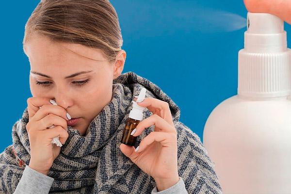 RINITIS ALÉRGICA: Spray y gotas nasales NO corticoides