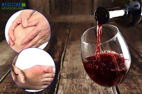 Vinos caseros para el dolor artritis, reumatismo, gota