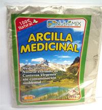 arcilla medicinal
